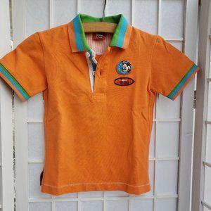 Mickey Aloha Short-sleeve T-shirt Size 3/4  Y (T5)